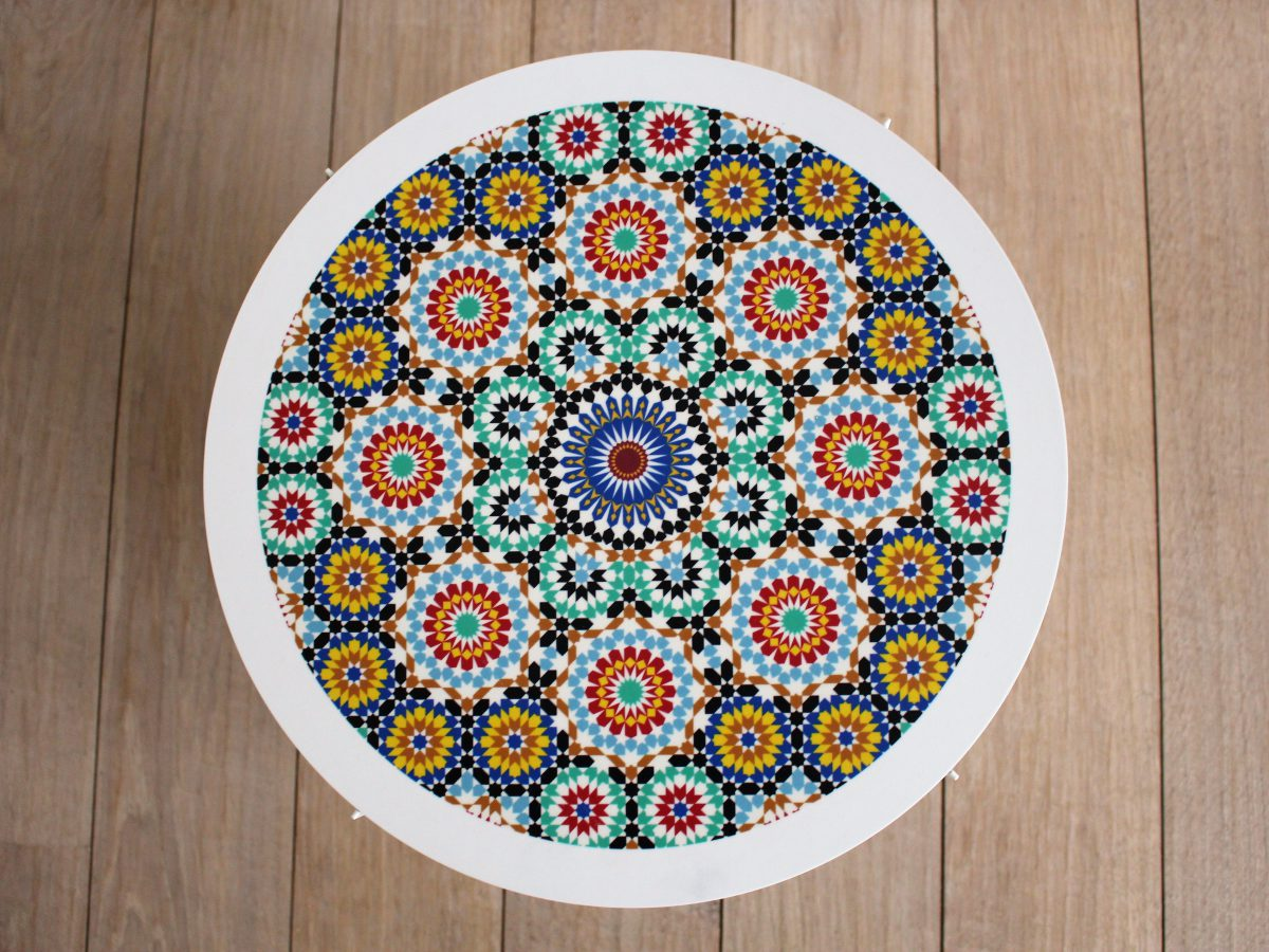 Mosaic Tray Table